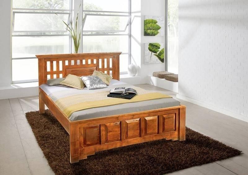 OXFORD HONIG posteľ #0261 masívny agát 140x200