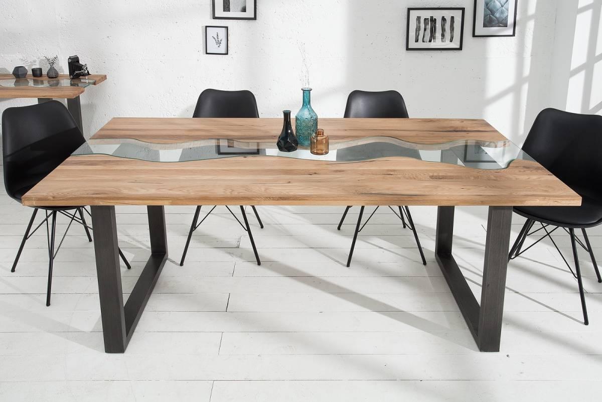 Bighome - Jedálenský stôl RIVIERA 200 cm - prírodná
