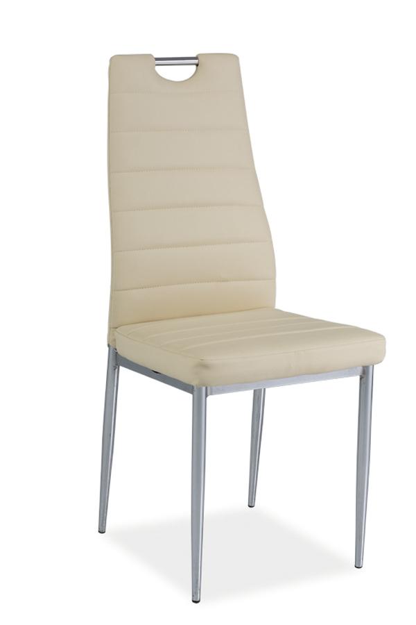 HK-260 jedálenská stolička, krémová