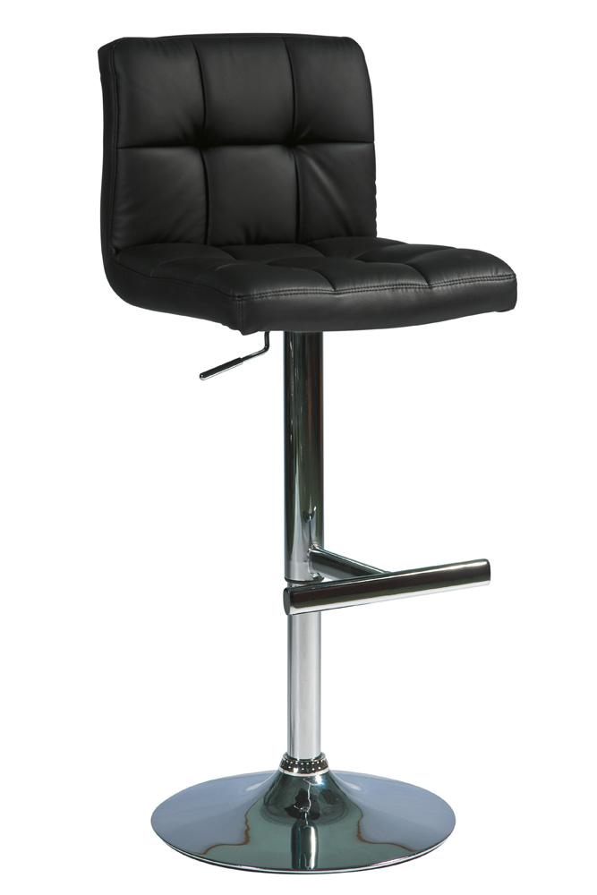 Barová stolička C-105 Krokus čierna