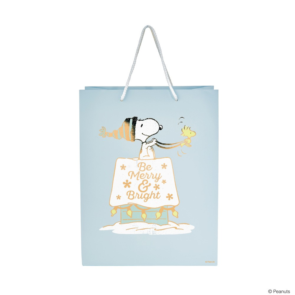 Darčeková taška Butlers Merry and Bright, výška 13,5 cm