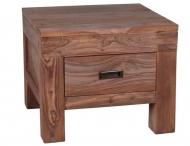 Furniture nábytok  Masívny nočný stolík z Palisanderu  Lotfolláh  50x50x45 cm