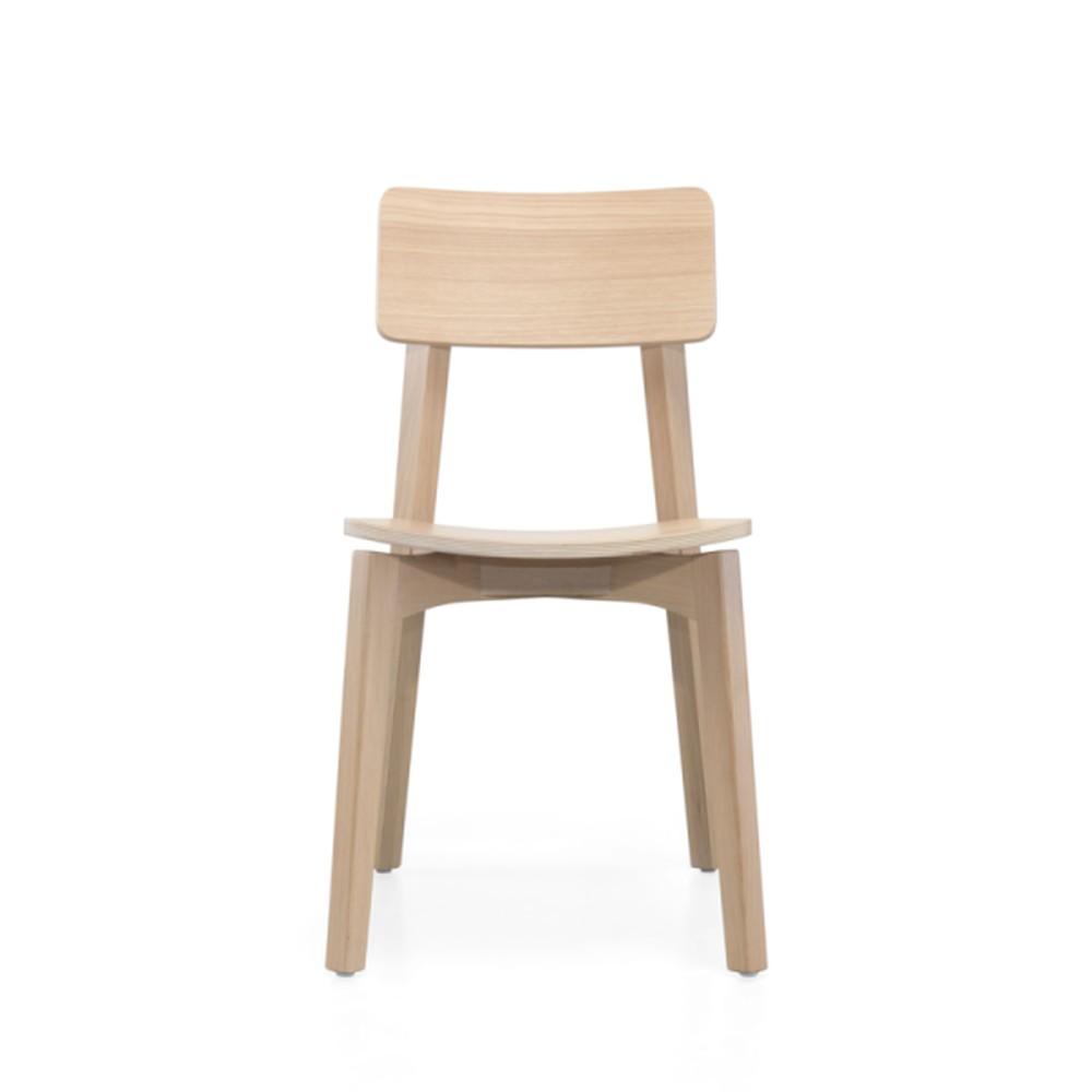 Jedálenská stolička z dubového dreva Wewood - Portugues Joinery Ericeira