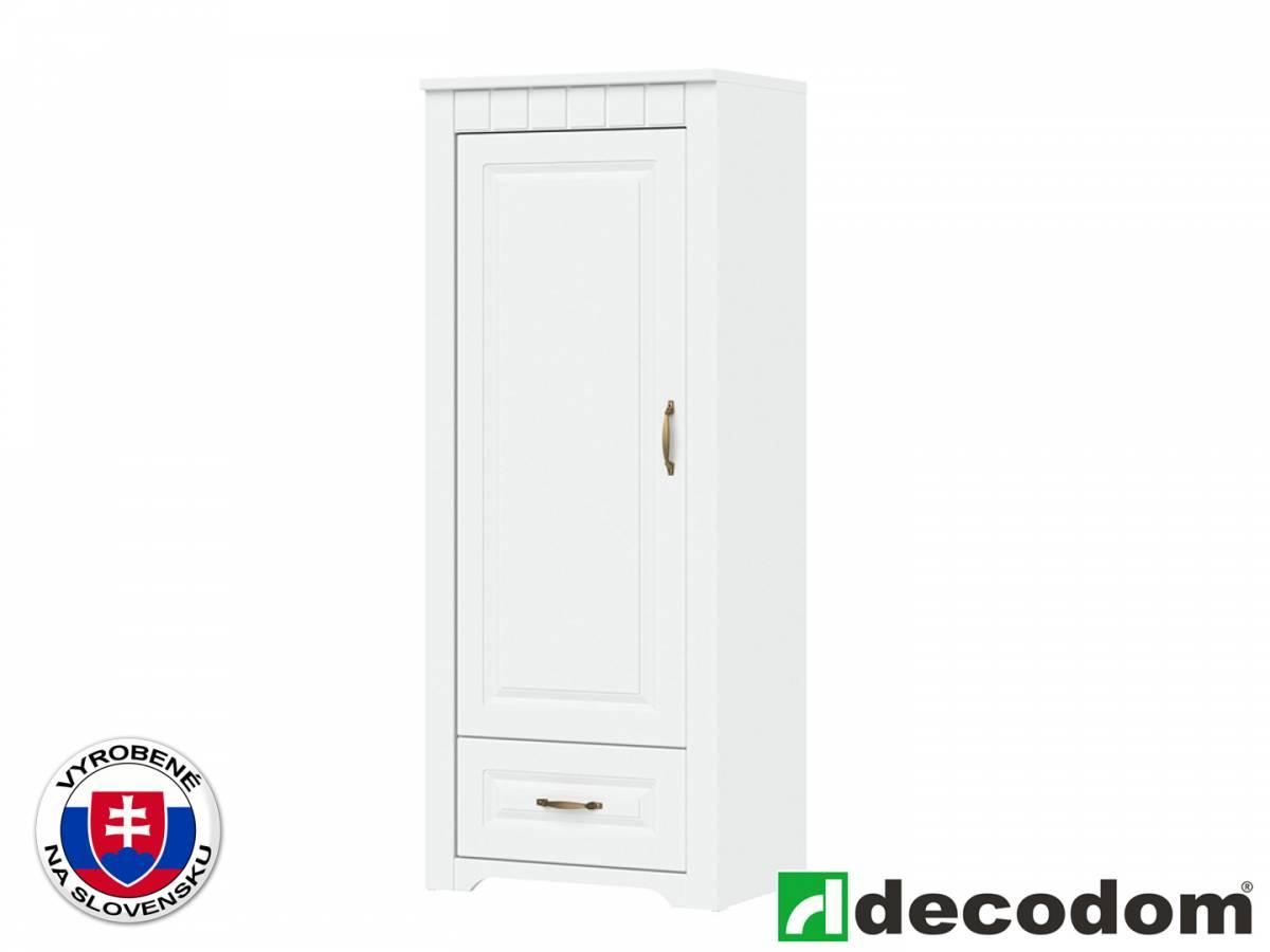 Policová skriňa Decodom Lirot Typ 03 (biela arctic)