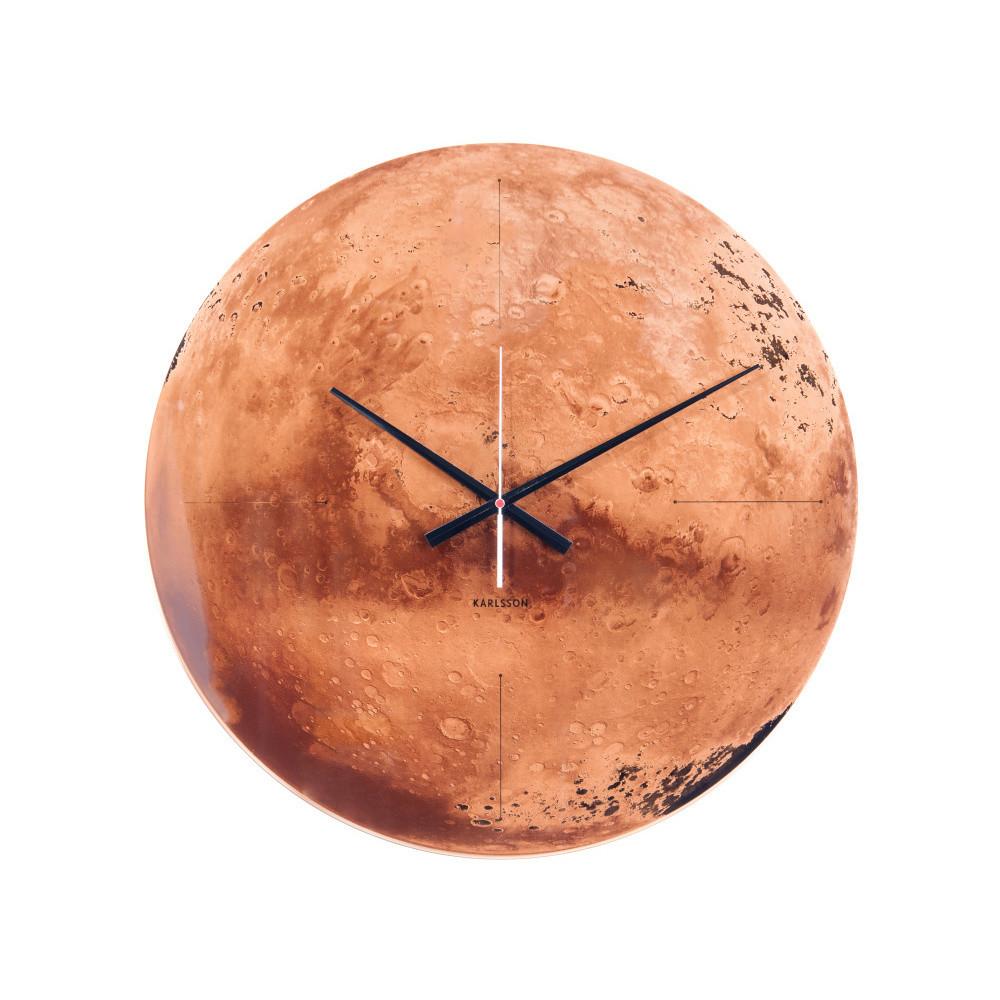 Medené hodiny Present Time Mars