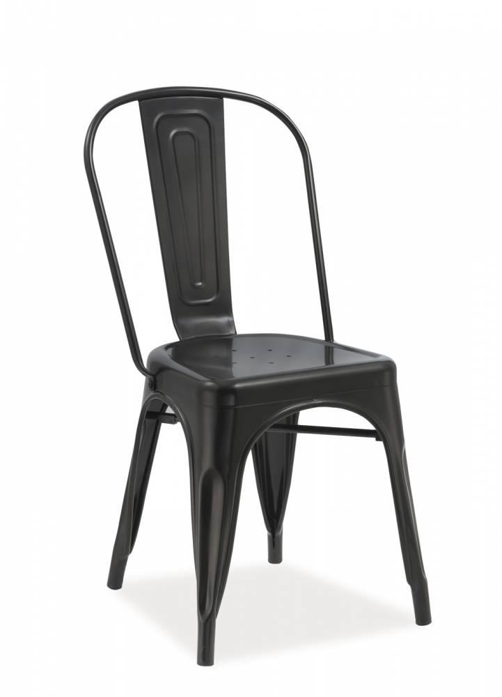 Jedálenská stolička Loft (matná čierna)