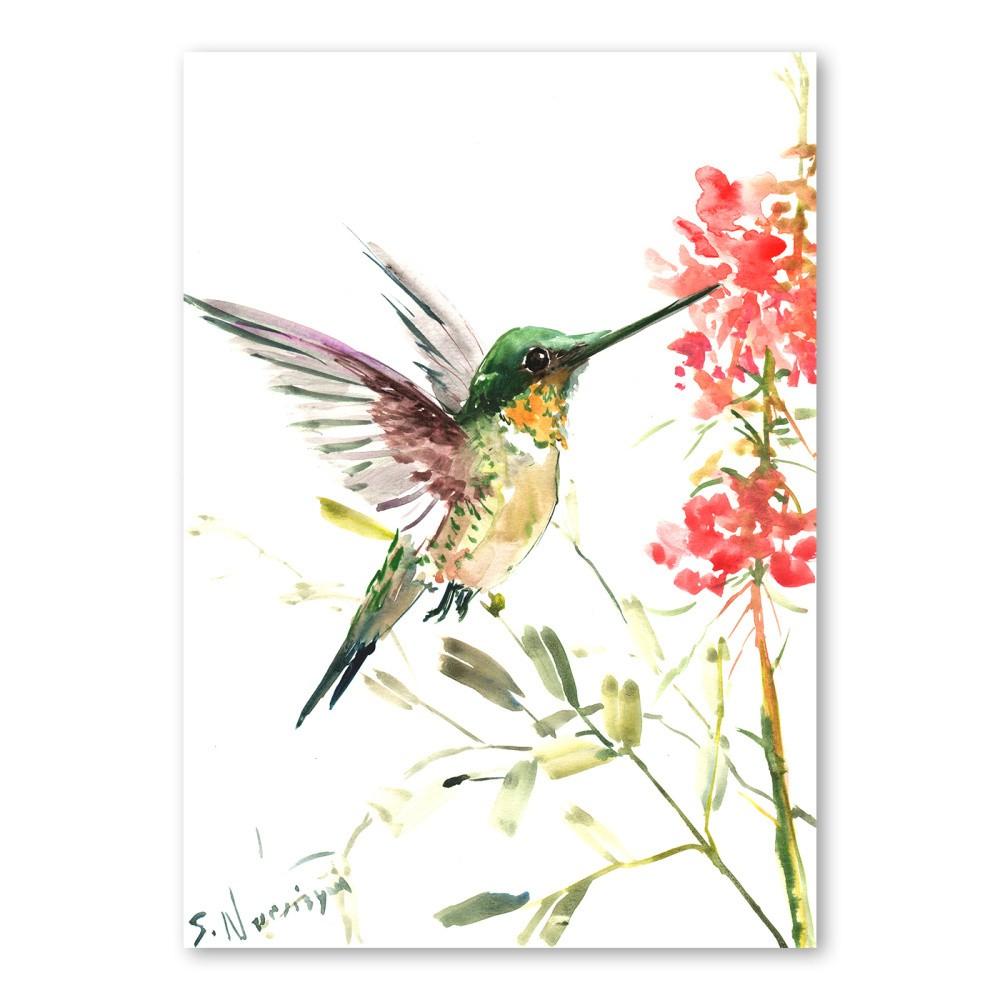 Autorský plagát Hummingbird od Surena Nersisyana, 42 x 30 cm