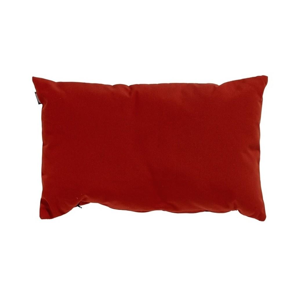 Červený záhradný vankúš Hartman Havana, 50 × 30 cm