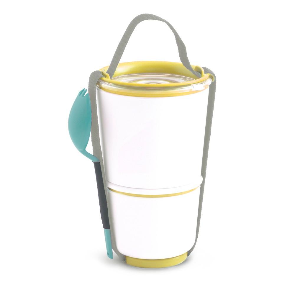 Žltý obedový box Black Blum Pot, 800 ml