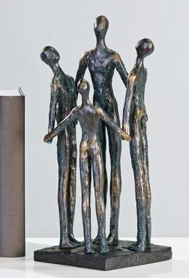 Socha GROUP - bronzová