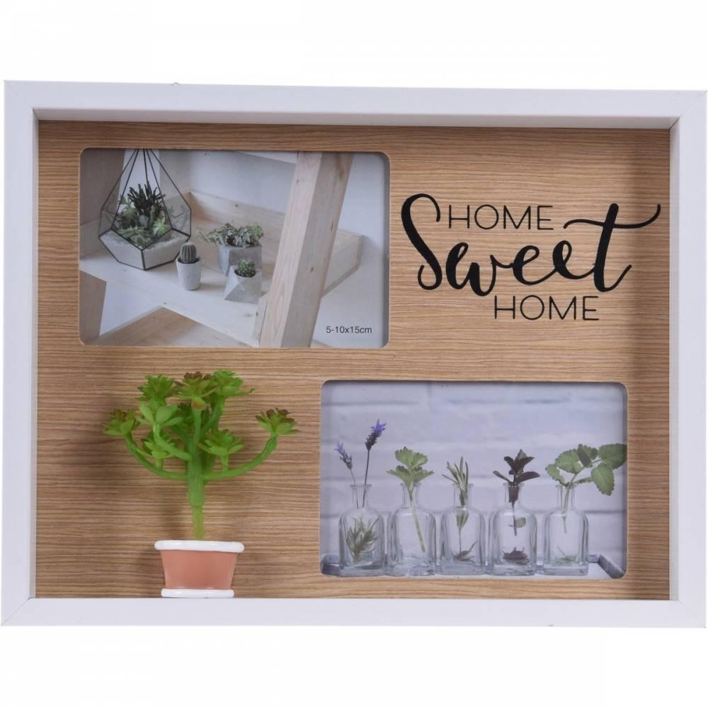Fotorámček Home sweet home, 24 x 31 x 3,5 cm