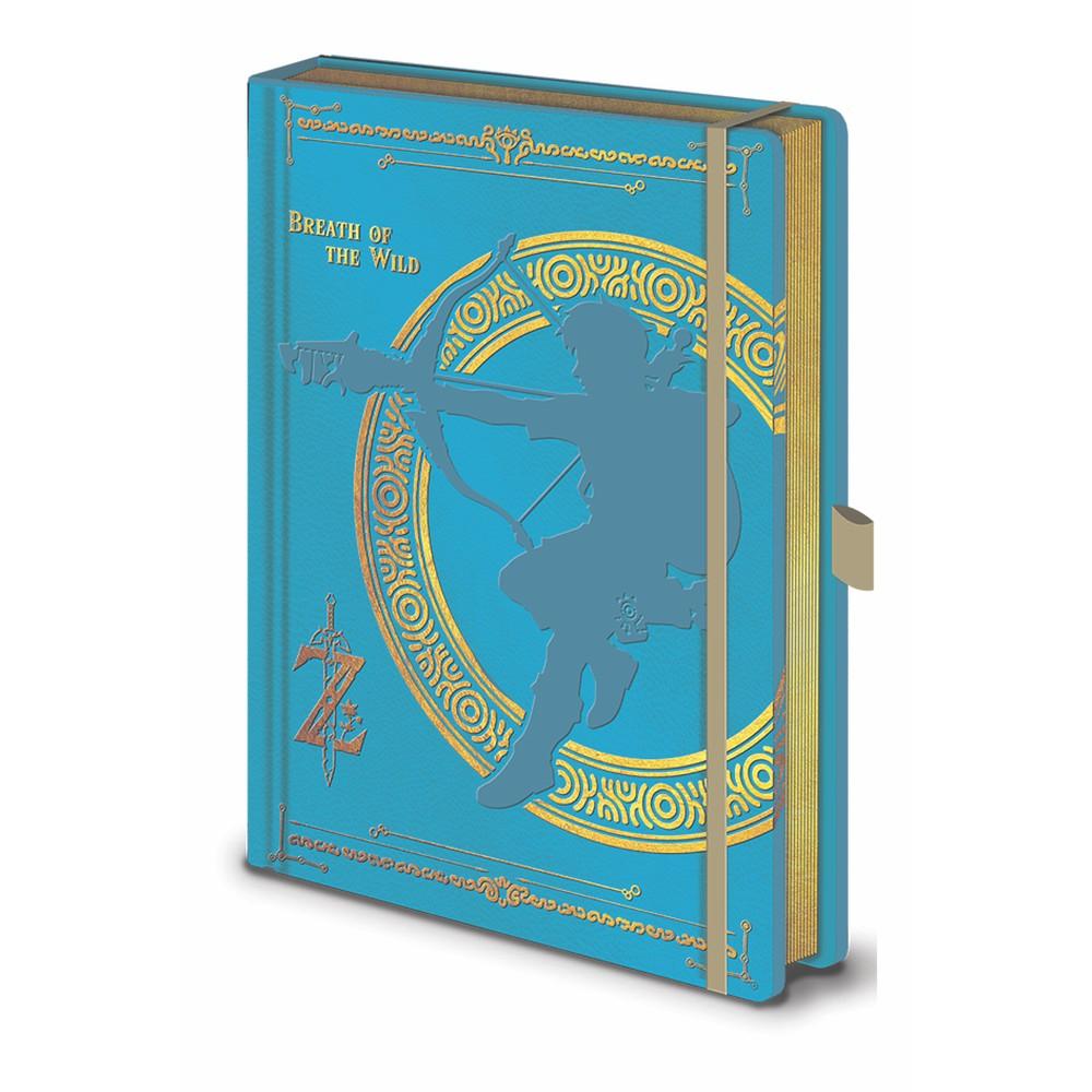 Zápisník A5 Pyramid International The Legend of Zelda BOTW, 120 strán