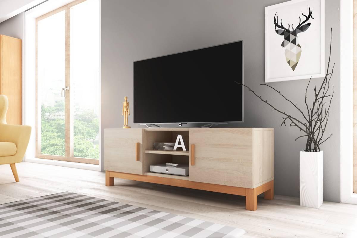 TV stolík/skrinka Norge (dub sonoma)