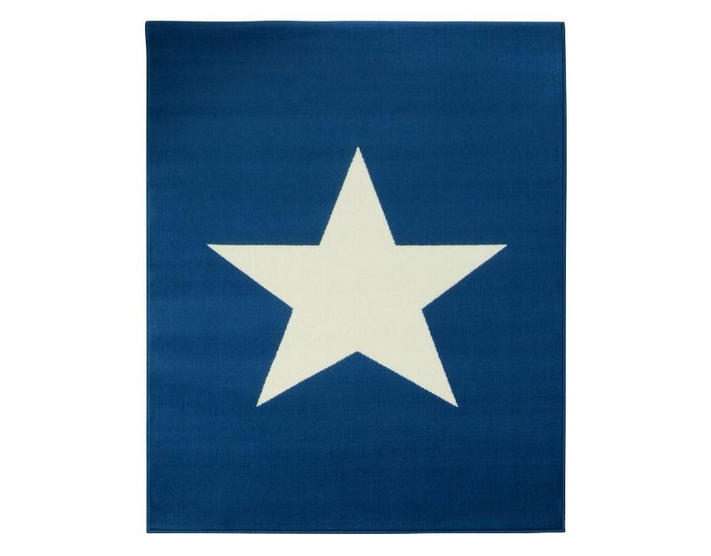 Modrý koberec Hanse Home City & Mix ,, 140x200cm