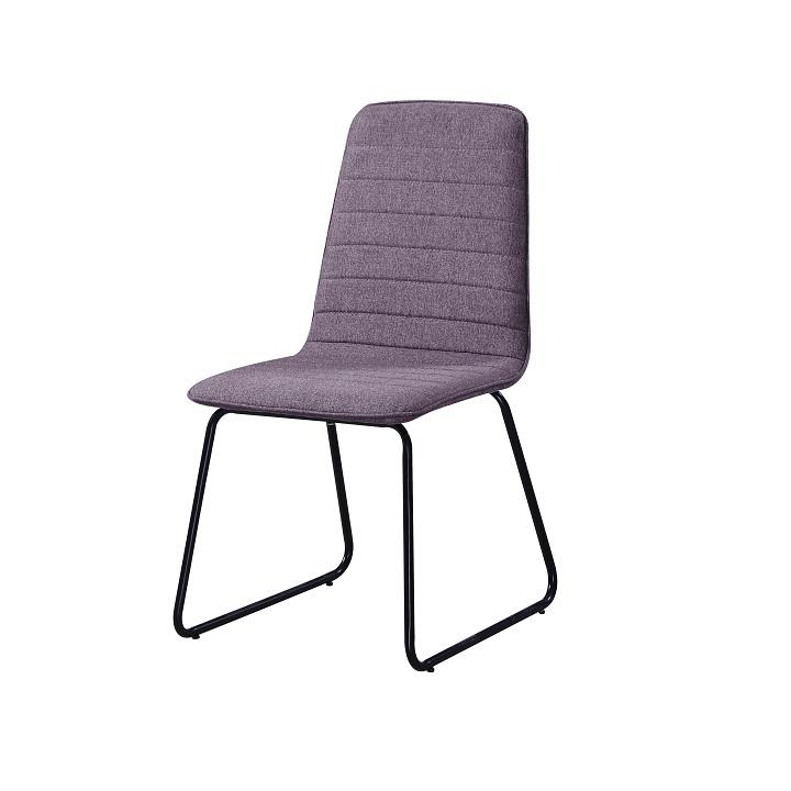 Jedálenská stolička Danuta (fialová + čierna)