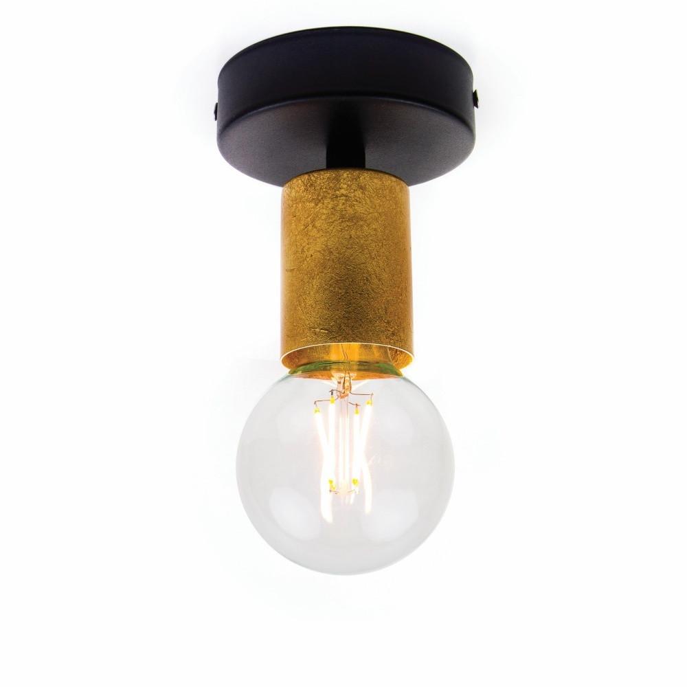 Zlaté stropné svetlo Bulb Attack Cero