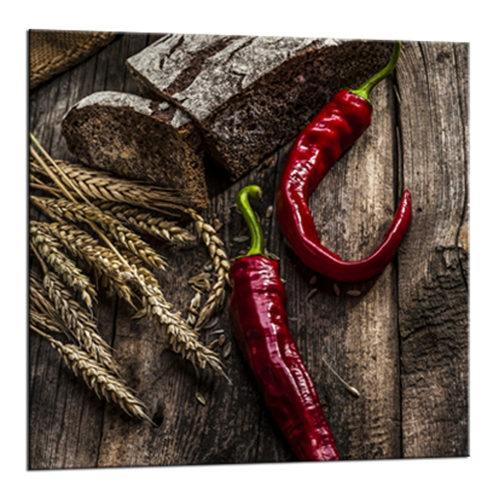 Obraz Styler Glasspik Peppers 2 A, 20×20 cm
