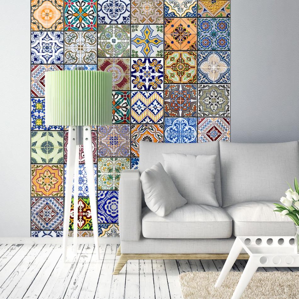 Tapeta v rolke Bimago Mosaic, 0,5x10 m