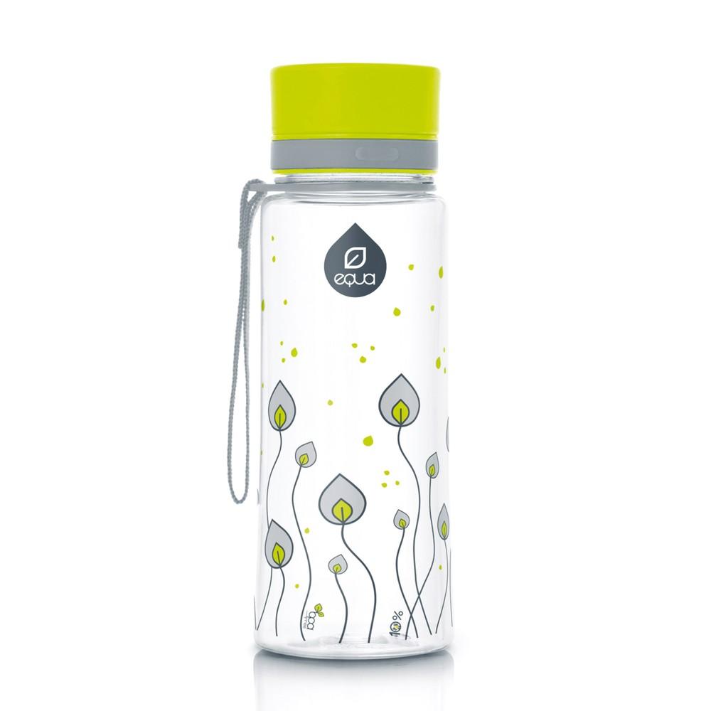 Plastová fľaša  Equa Leaves, 0,4 l