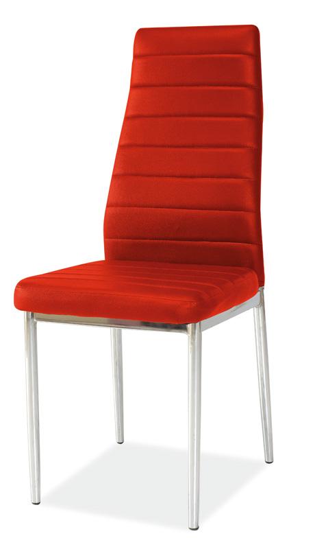 SIGNAL H-261 jedálenská stolička - červená