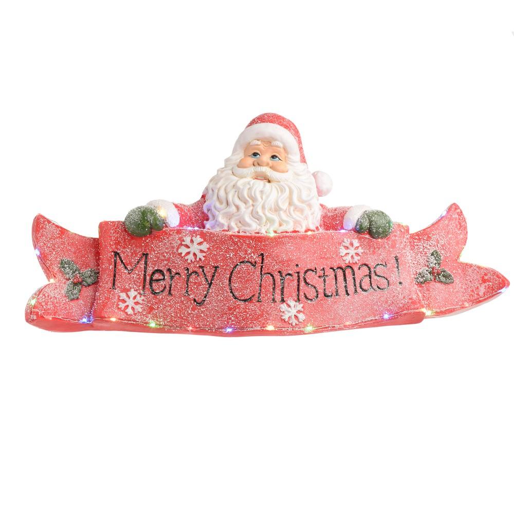 Vianočná svetelná dekorácia v tvare Santu InArt Aimee