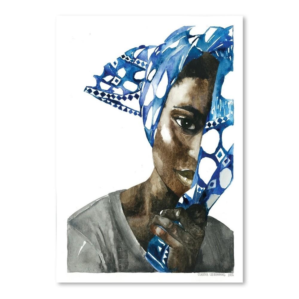 Plagát African Pride I, 30x42 cm