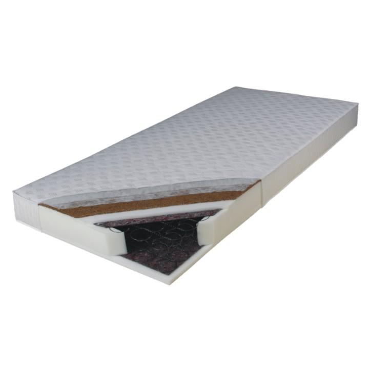 Pružinový matrac Kokos Medium 195x80 cm