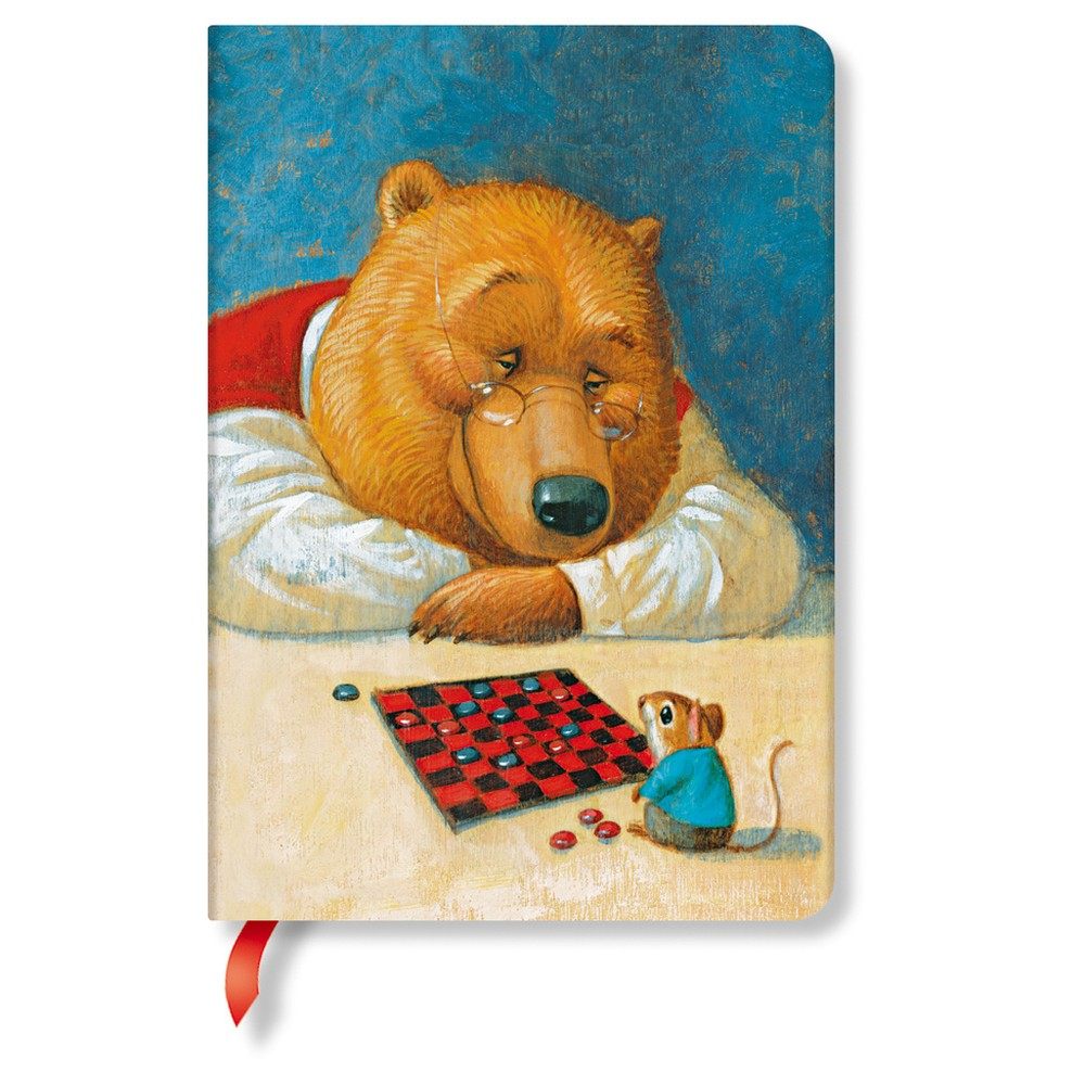 Linkovaný zápisník s tvrdou väzbou Paperblanks Your Move, 12 x 17 cm
