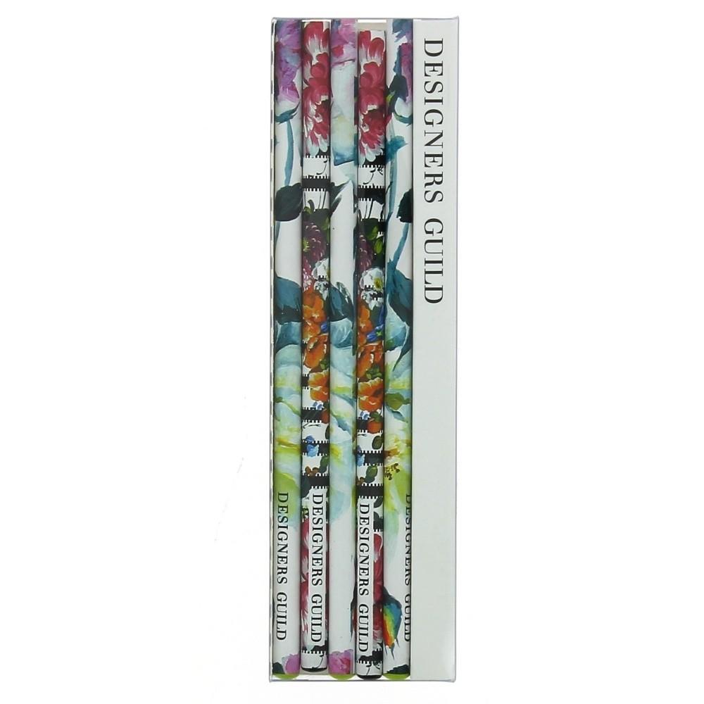 Sada 5 ceruziek Blueprint Collections Couture Rose