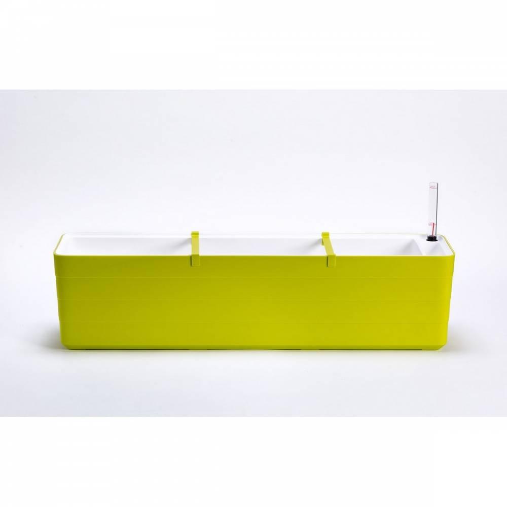 Plastia Samozavlažovací truhlík Berberis 80, zelená + biela