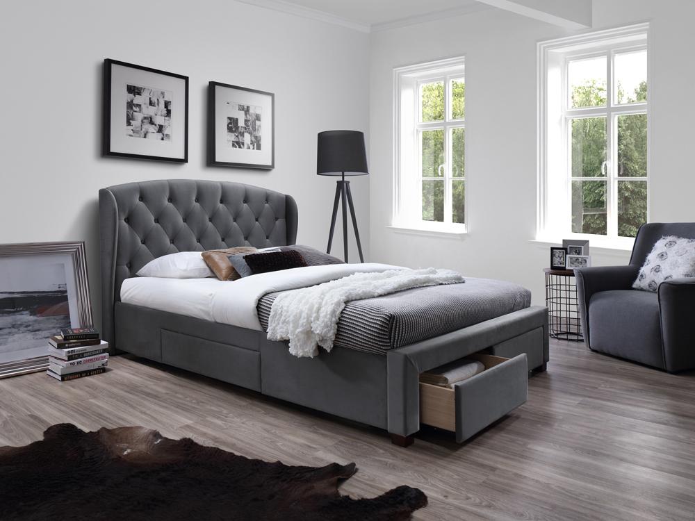 Manželská posteľ 160 cm Sabrina (s roštom)