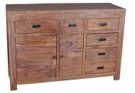 Furniture nábytok  Masívna Komoda z Palisanderu  Modžtabá  132x45x87 cm