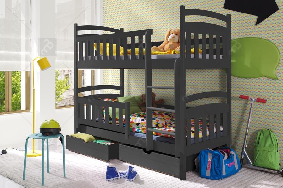 Nabytok-Bogart Poschodová posteľ lukášek 80 x 200