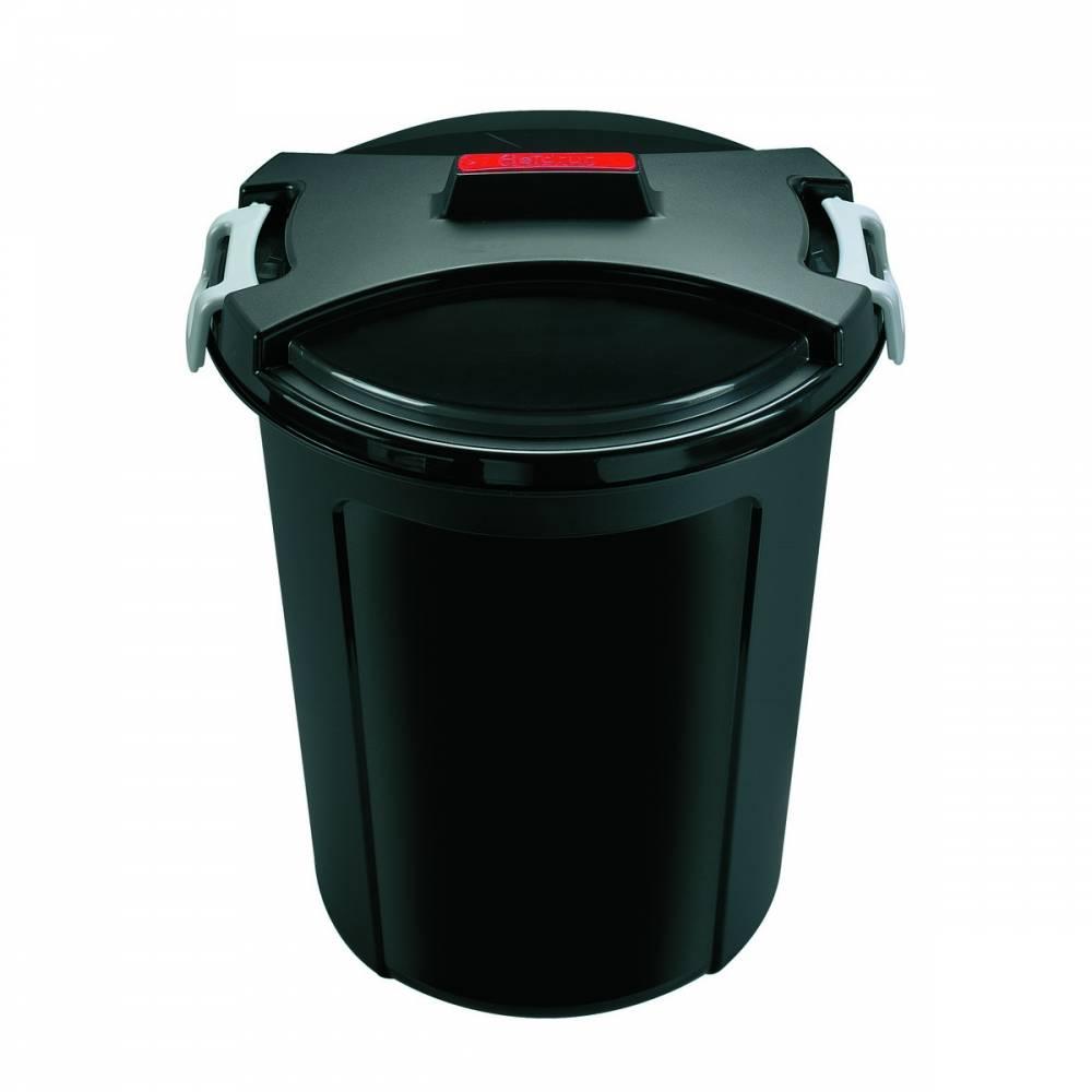 Plastový kôš na odpadky HEIDRUN 46l
