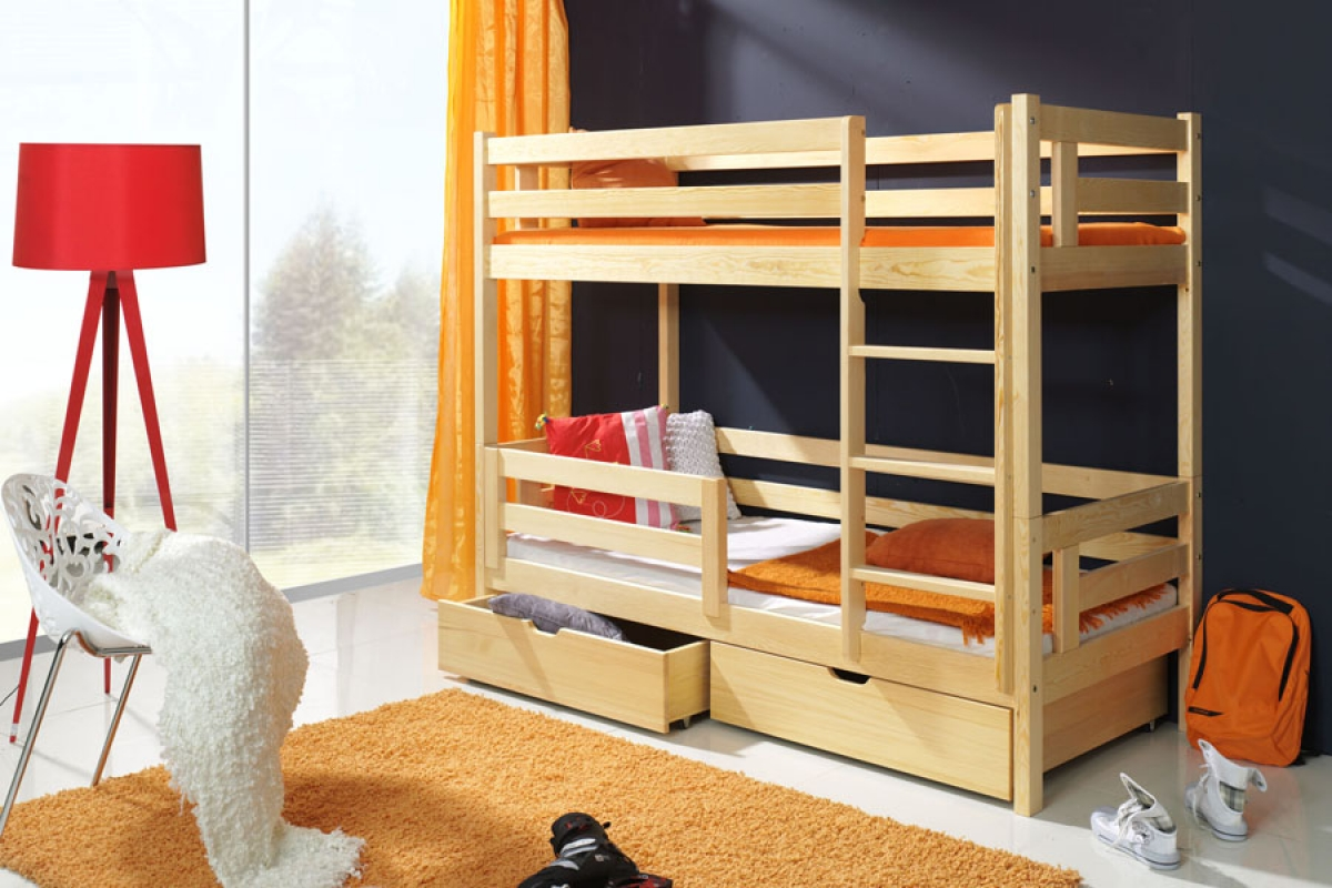 Nabytok-Bogart Poschodová posteľ romek
