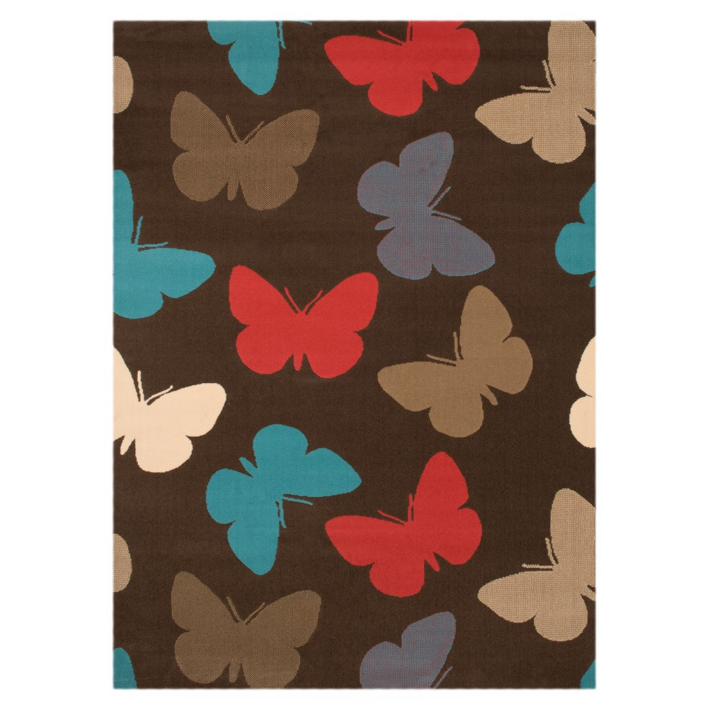 Detský koberec Hanse Home Motýle, 140×200cm