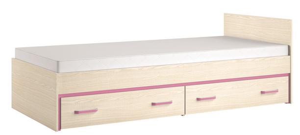 Detská posteľ BONTI 15   Farba: Ružová