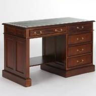 Furniture nábytok  Masívny písací stôl z Palisanderu  Parvín  120x60x77 cm