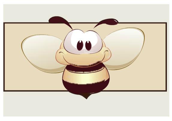 Detská izba Filip so zásuvkou / Havana   Farba: Havana, Dekor: Včielka 6
