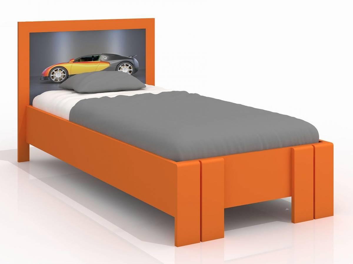 Jednolôžková posteľ 90 cm Naturlig Kids Manglerud High (borovica) (s roštom)