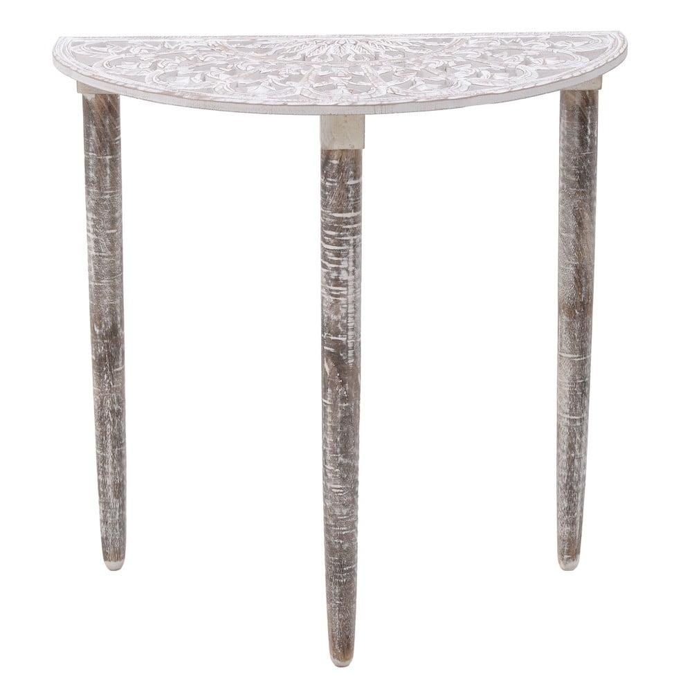 Konzolový stolík z mangového dreva InArt Antique