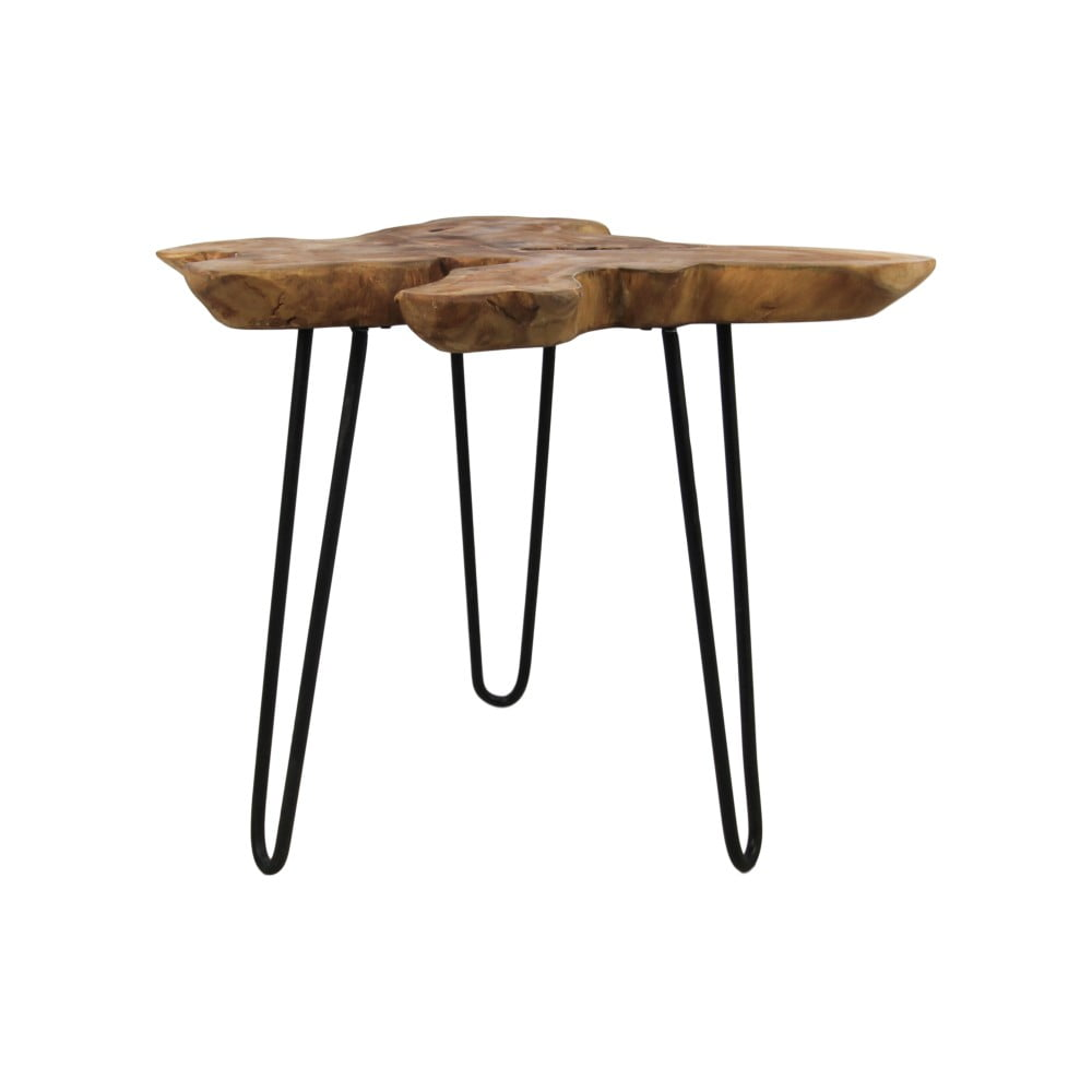 Príručný stolík z teakového dreva HSM collection Kario