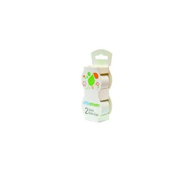 Sodastream viečko biele na plastové fľaše, 2ks