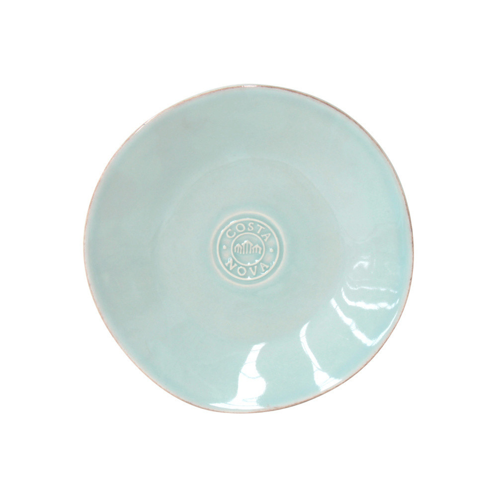 Tyrkysový keramický tanier na pečivo Ego Dekor Nova, Ø16cm