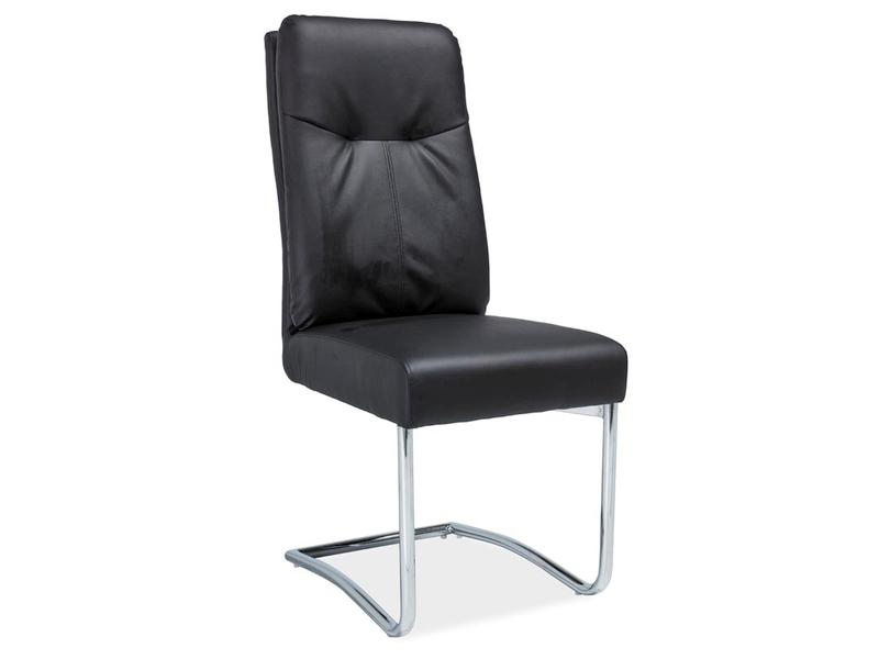 HK-340 jedálenská stolička, čierna