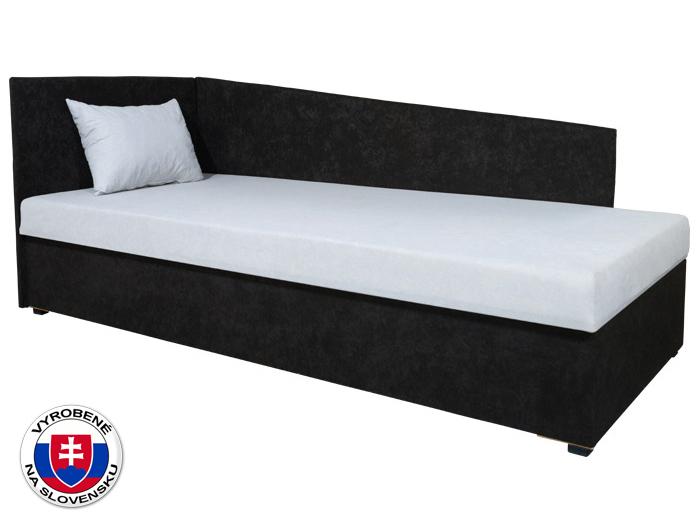 Jednolôžková posteľ (váľanda) 80 cm Edo 4 Lux (so sendvičovým matracom) (L)