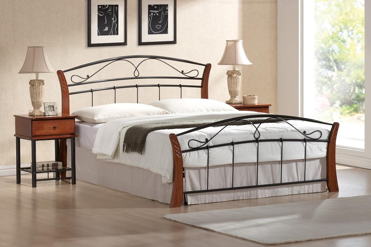 SIGNAL ATLANTA 160 posteľ s roštom - čerešna antická