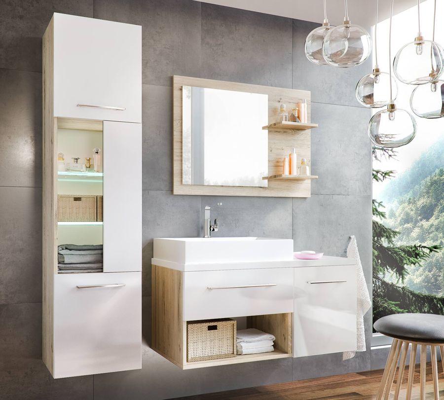 ARABA biela - kúpeľňová zostava
