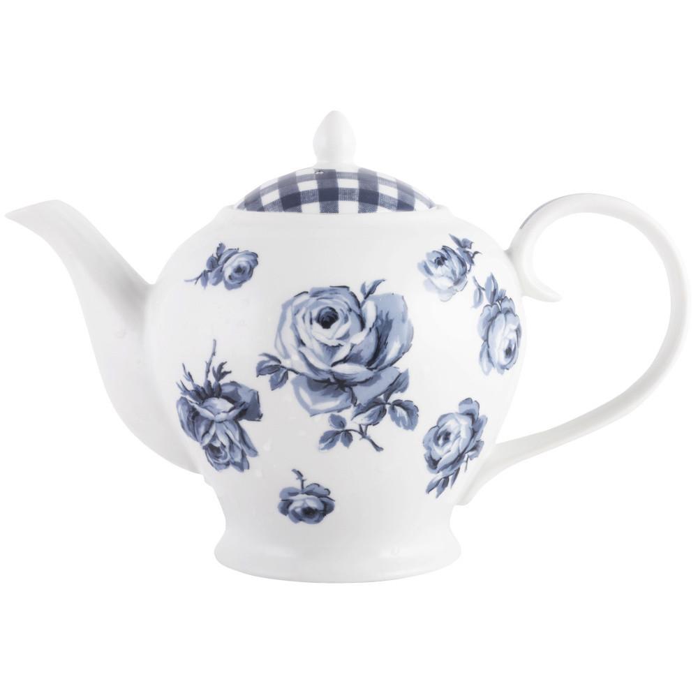 Porcelánová čajová kanvica Creative Tops Vintage Indigo, 1200 ml