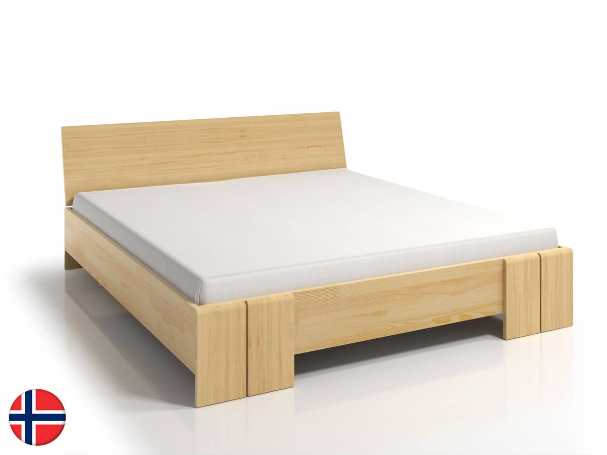 Manželská posteľ 200 cm Naturlig Galember Maxi Long (borovica) (s roštom)
